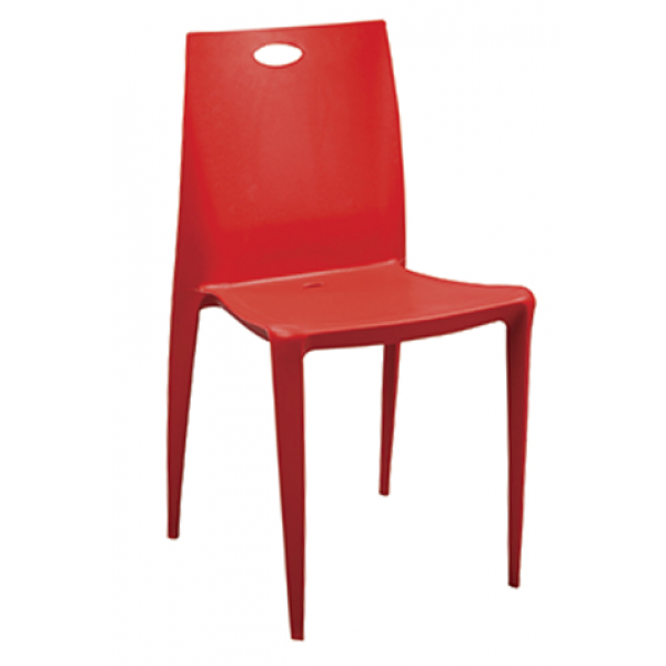 Oasis Stacking Side Chair w/ Resin Back, GA239
