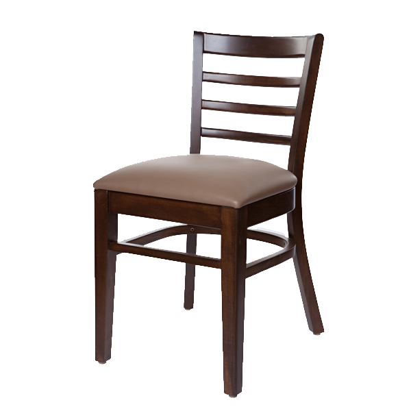 Classic Style Cafe Side Chair With Upholstered Seat OD242US