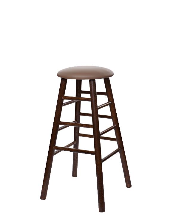 Modern Style Oak Tavern Barstool With Upholstered Seat - OD2704US-30""