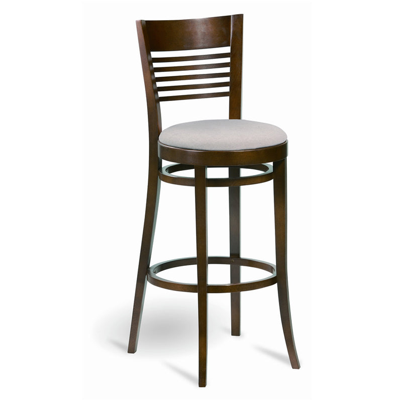Frole Wooden Barstool