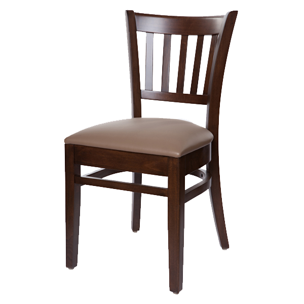 Classic Style Jazz Side Chair With Upholstered Seat OD282US