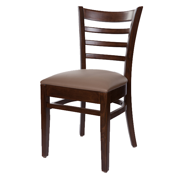 Classic Style Bistro Side Chair With Upholstered Seat OD292US