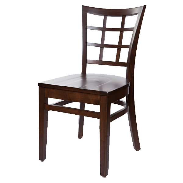 Classic style Lattice Back Cheshire Side Chair OD342