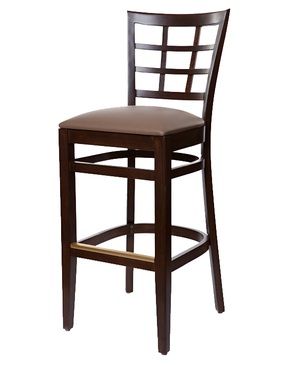 Classic Style Cheshire Barstool With Upholstered Seat OD346US