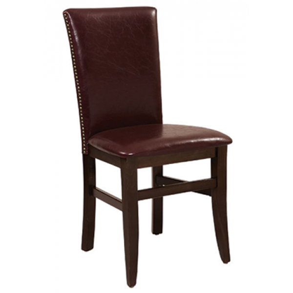 Lotus Beechwood Chair with Square Back