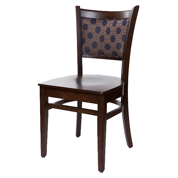 Classic Style Ellington Side Chair With Upholstered Back / Back & Seat OD382UB - 3 Option