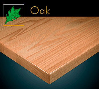 1400 Series Classic Oak Plank Table Top