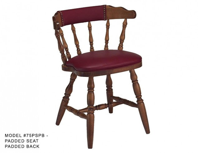 Colonial Mates Spindle Chair, MD75