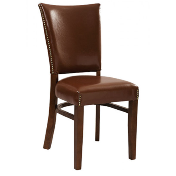 Klyne Beechwood Chair with Padded Back