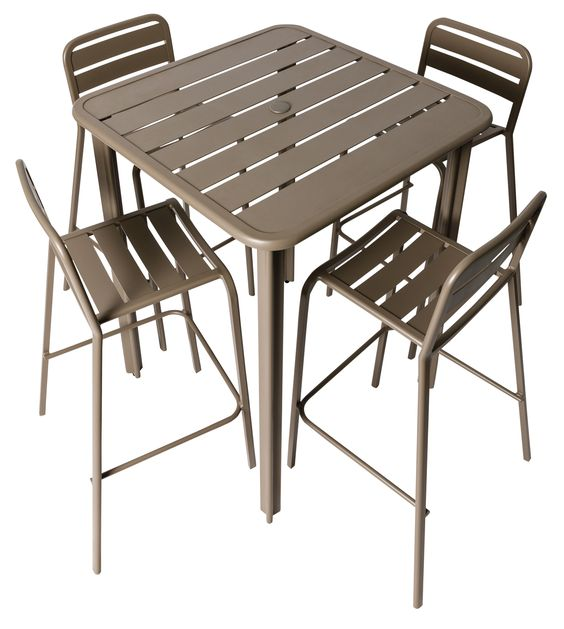 Vista Outdoor Stacking Side Chair, DV452