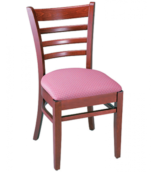European Beechwood Chair with Ladder Back