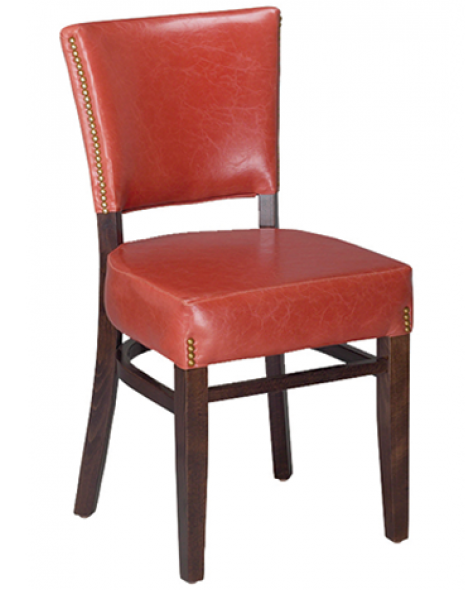 Oxford Beechwood Chair with Padded Back