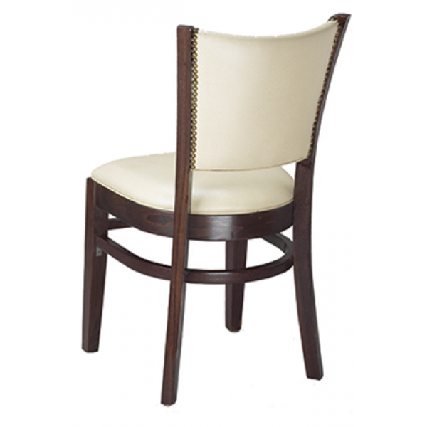 Bristol Beechwood Chair with Padded Back