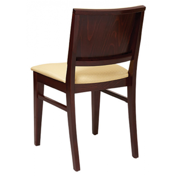 Madison Beechwood Chair with Padded Back