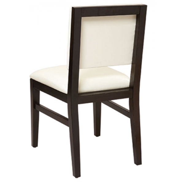 Meridian Beechwood Chair with Padded Back