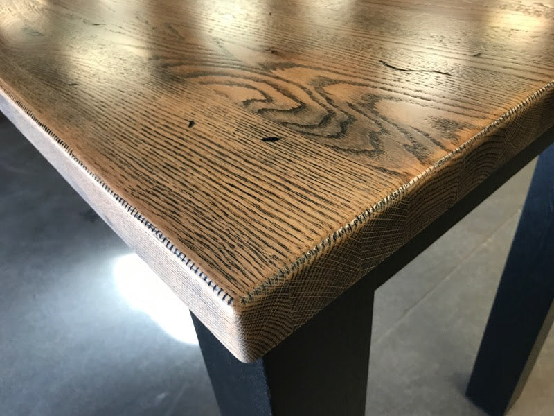 4 Leg Ash Table - Black Cerused