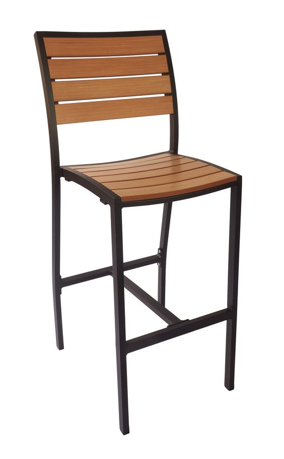 Largo Outdoor Barstool without Arms, PH102BTK