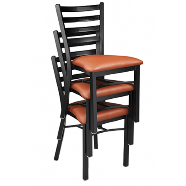 Dante Steel Stacking Chair w/ Ladder Back, GA513ST