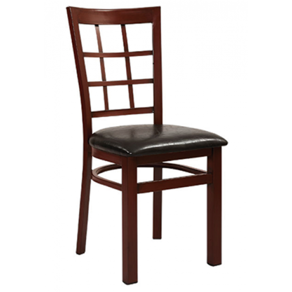 Windsor Aluminum Chair w/ Grid Back, GA550