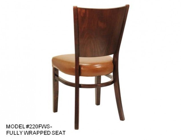 Heavy Duty Panel Back Side Chair, MD220