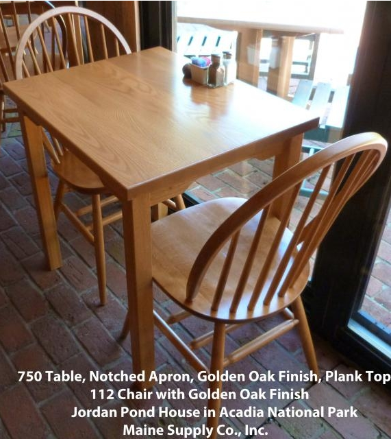 750MRFD Multi-Purpose Maple Solid Wood Table with Legs