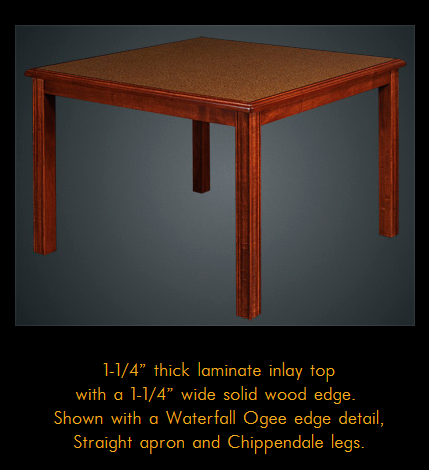 775MRFD Series Multi-Purpose Maple Laminate Table