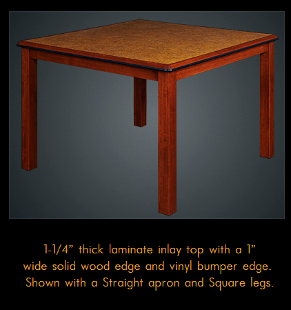 776ORFD Series Multi-Purpose Oak Laminate Table