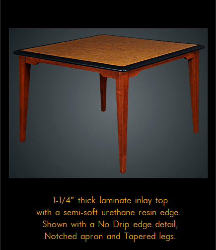 780ORFD Series Multi-Purpose Oak Laminate Table