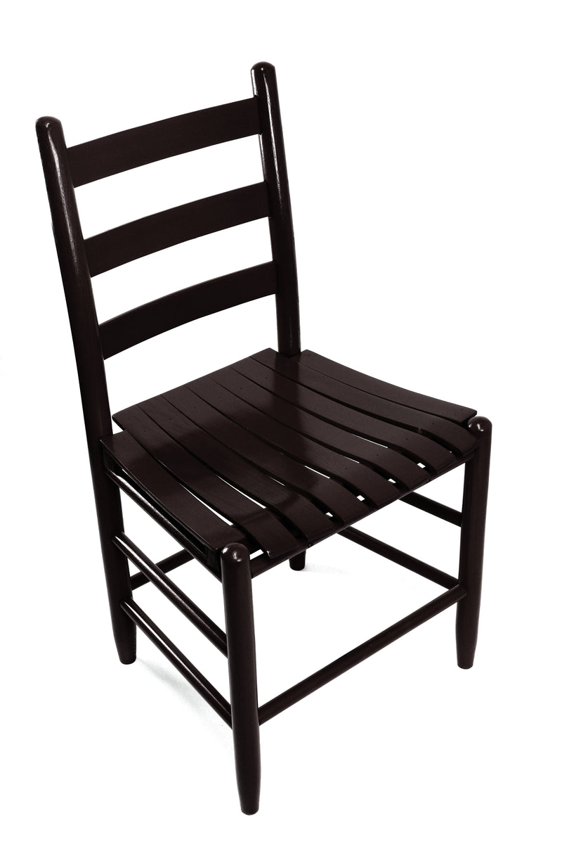 Black Boone chair w/ slat seat