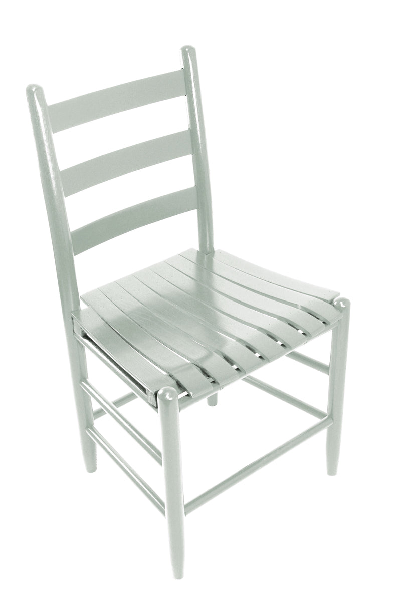 Coastal Gray Boone Chair w/ slat seat