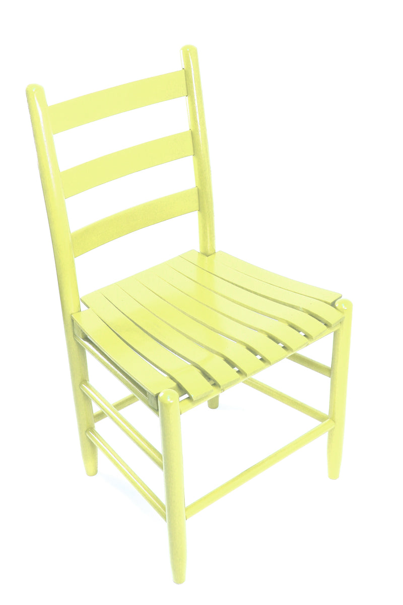Coastal Green Boone chair w/ slat seat