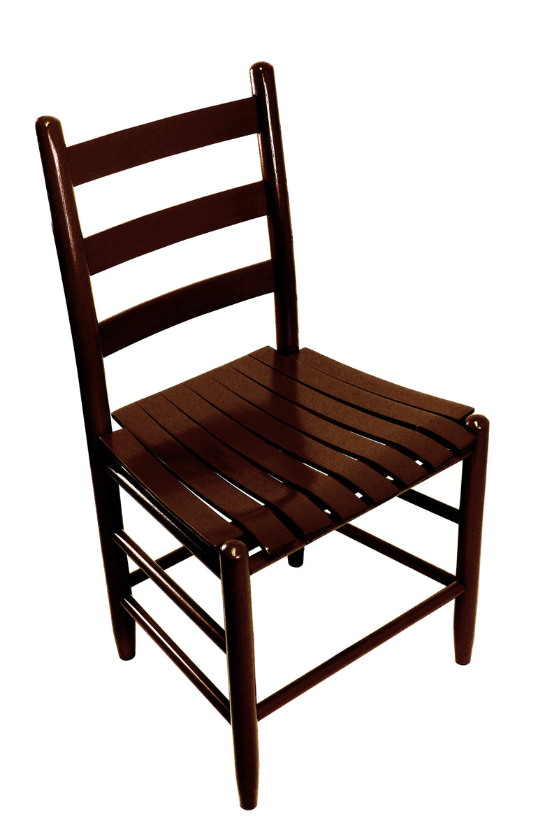 Walnut Boone chair w/ slat seat