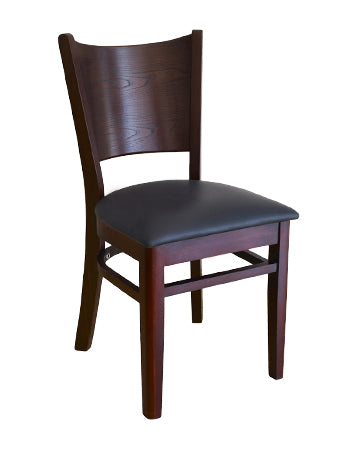 1-E1081RFD Curve Back Chair