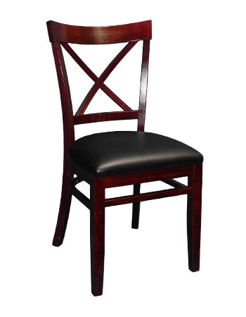 1-E1032RFD X Back Wood Chair