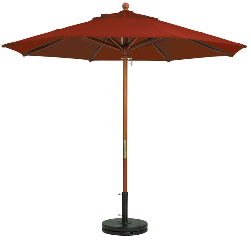 "Market 9ft Umbrella w/ 1 1/2"" Pole"
