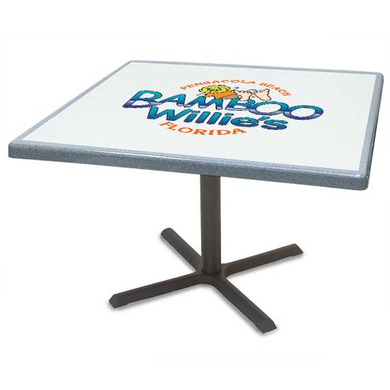 500 Series Composite Rectangle Table Tops w/ Easy Grip