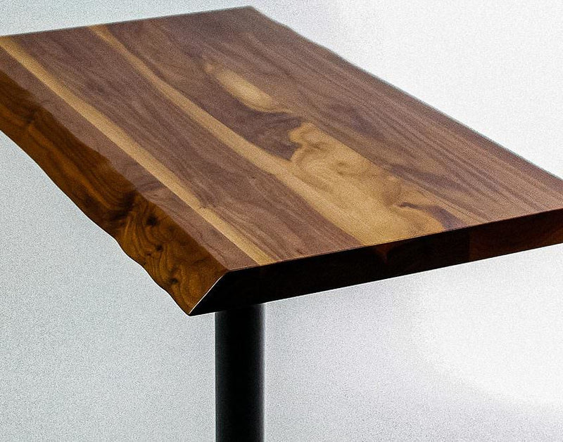 FSC® Certified Live Edge Walnut Table Top from Maine Supply
