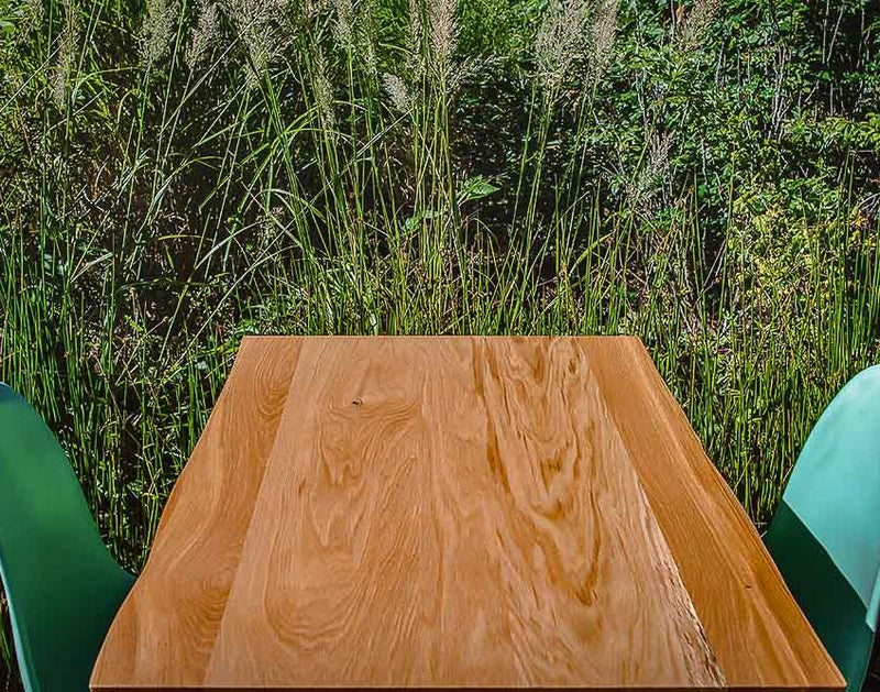 FSC® Certified Live Edge Oak Table Top
