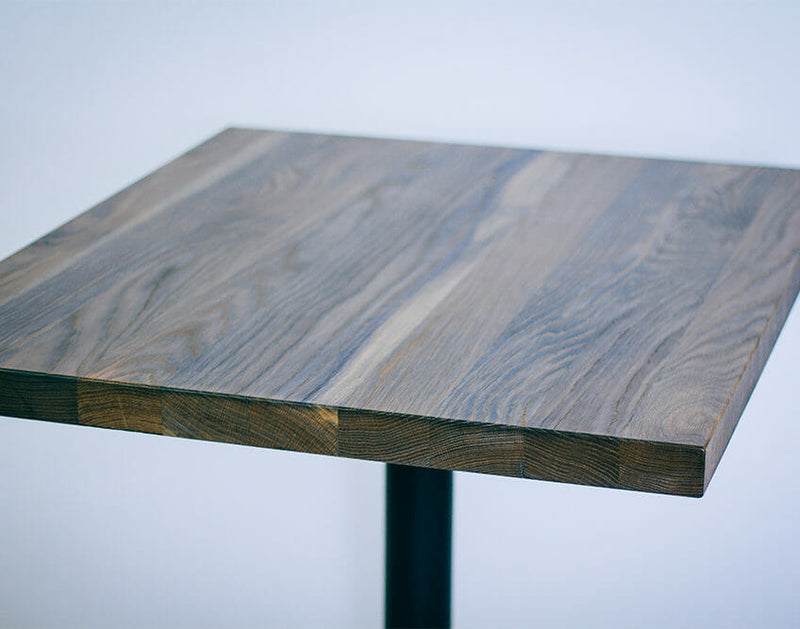 FSC Certified White Oak Table Top w/ Vintage Stain