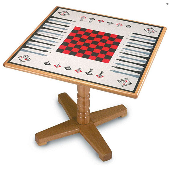 Game Borad Laminate Square Table Top