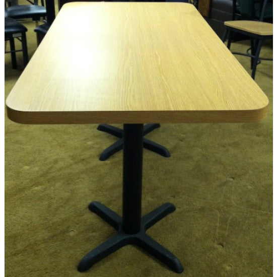 "Self Edge 1.25"" Laminate Standard Restaurant Quality Table Tops 5000 Series"