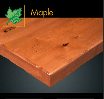 2000RP Series Rustic Maple Plank Table Top