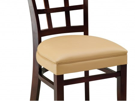 Chole Beechwood Handhold Chair with Curved Back