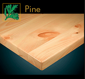 2200 Series Contemporary Pine Plank Table Top