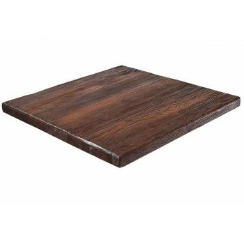 RA Series Reclaimed Wood with Walnut Finish Table Top