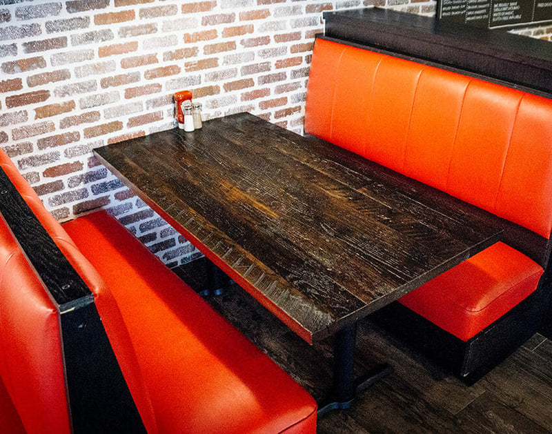 FSC® Certified Antique Barnwood Reclaimed Wood Table Top
