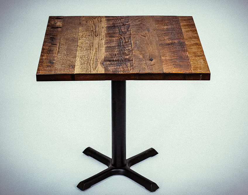 save off 4ecd1 c4b77 FSC® Certified Antique Barnwood Reclaimed Wood Table Top