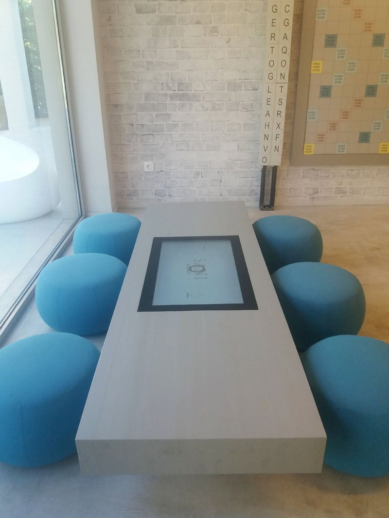 PLAY Table with a Custom Encasing