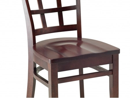 Provence Beechwood Chair with Cross Back
