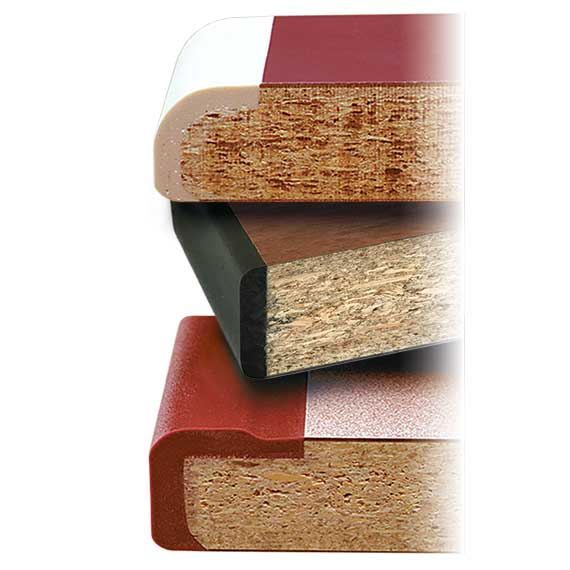 Edge Profiles of 1000 Series Laminate Table Tops
